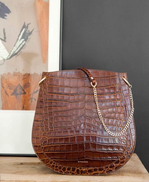 Bag n°944 Brown Croco