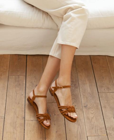 Sandales n°112 Havane