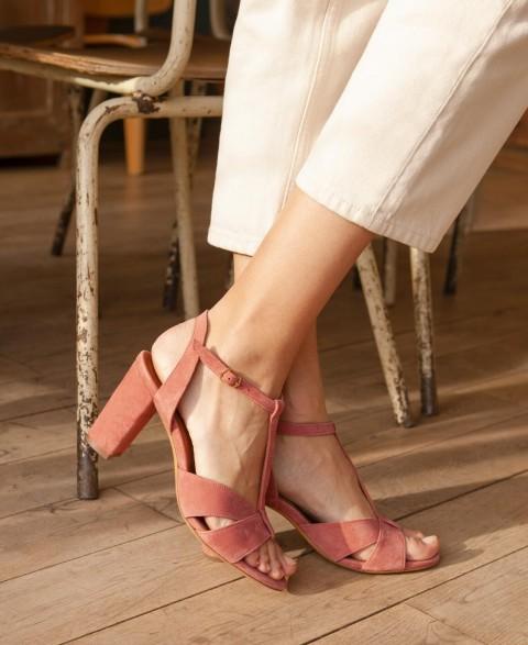 Sandales n°850 Blush