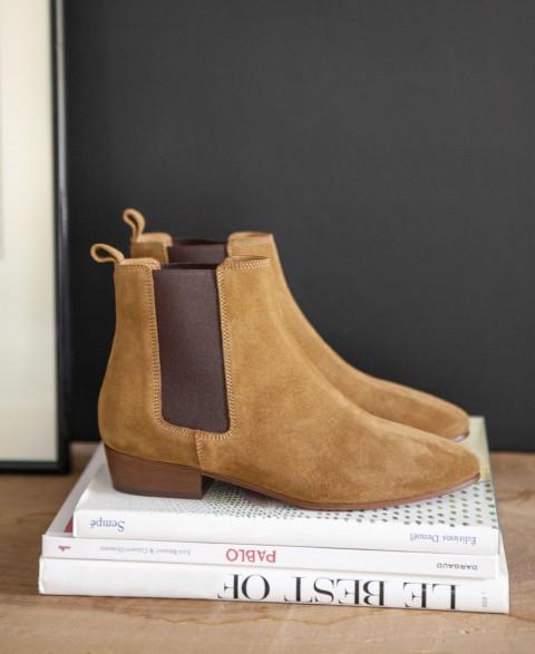 Boots n°66 Ecorce